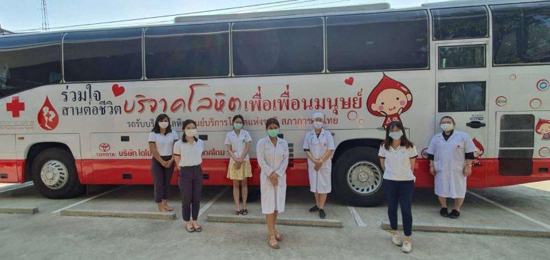 泰国傲璟房地产开发集团首席执行官带领集团多名员工参与无偿献血活动,以抗击COVID-19疫情!
