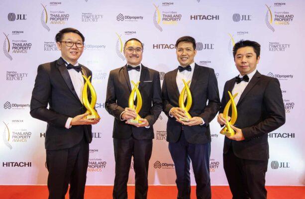 "ORIGIN从 阶段获得了四项质量奖""Property Guru Thailand Property Awards 2020"""